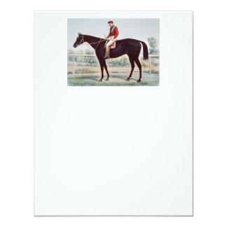 TOP Horse Racing Winner's Circle Card