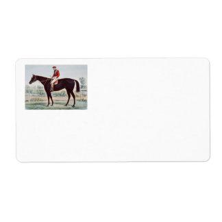TOP Horse Racing Winner's Circle Label