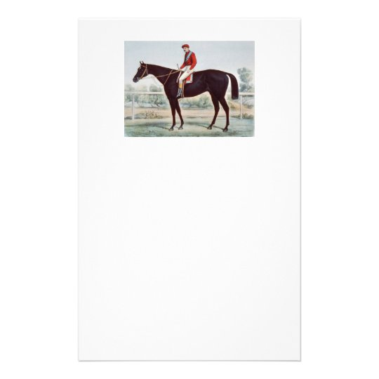 TOP Horse Racing Winner's Circle Stationery