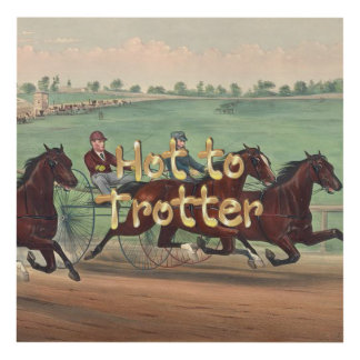 TOP Hot to Trotter Panel Wall Art
