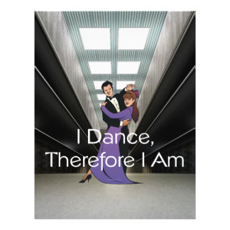 """TOP I Dance Therefore I Am 8.5"""" X 11"""" Flyer"""