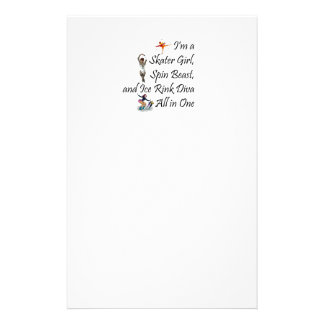 TOP Ice Rink Diva Stationery