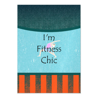 TOP I'm Fitness Chic Magnetic Card