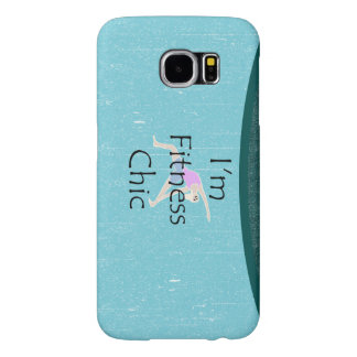 TOP I'm Fitness Chic Samsung Galaxy S6 Case