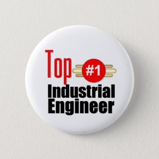 Top Industrial Engineer Pinback Button