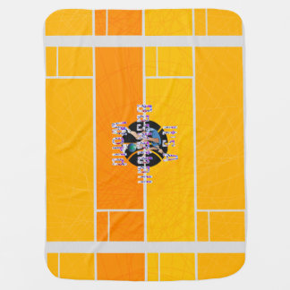 TOP It's a Basketball World Receiving Blanket