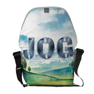 TOP Jog Messenger Bag
