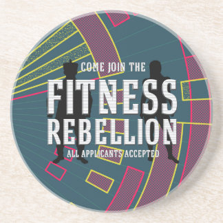 TOP Join Fitness Rebellion Drink Coaster