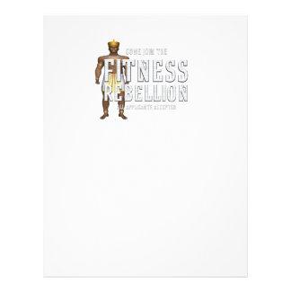 TOP Join Fitness Rebellion Flyer