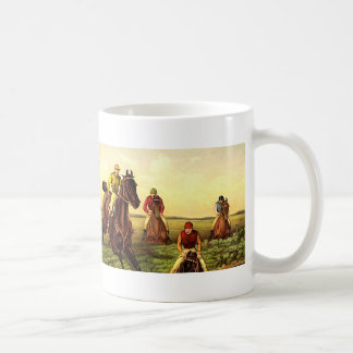 TOP Jump Race Classic White Coffee Mug