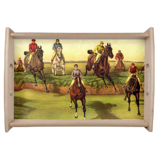 TOP Jump Race Serving Trays