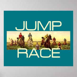 TOP Jump Race Poster