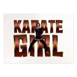 TOP Karate Girl Business Card Templates