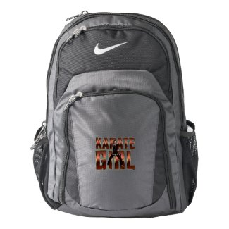 TOP Karate Girl Nike Backpack