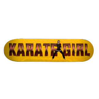 TOP Karate Girl Skateboard Deck