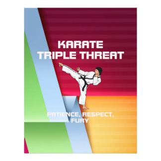 "TOP Karate Slogan 8.5"" X 11"" Flyer"