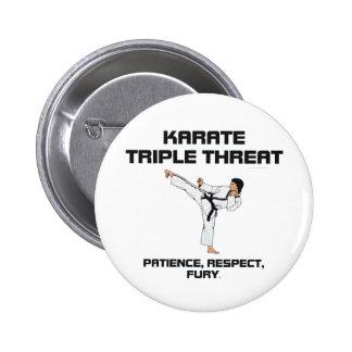 TOP Karate Slogan Button
