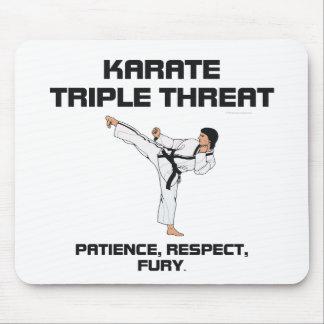 TOP Karate Slogan Mouse Pad