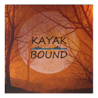 TOP Kayak Bound Acrylic Print