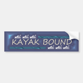 TOP Kayak Bound Bumper Sticker