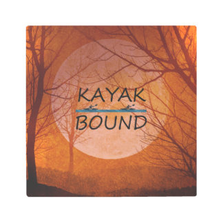 TOP Kayak Bound Metal Photo Print