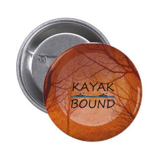 TOP Kayak Bound Pinback Button