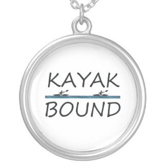 TOP Kayak Bound Silver Plated Necklace