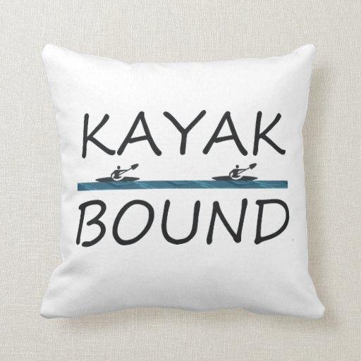 TOP Kayak Bound Throw Pillows