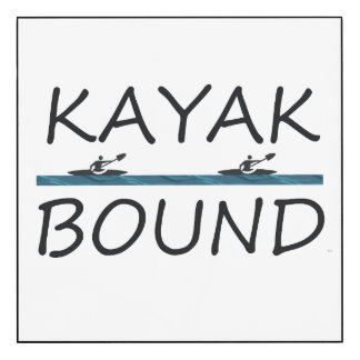 TOP Kayak Bound Wood Wall Art