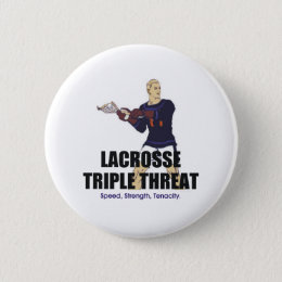 TOP Lacrosse Triple Threat Button