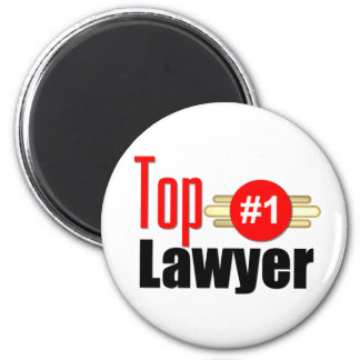TOP Lawyer 2 Inch Round Magnet