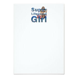 TOP Lifeguard Girl Card