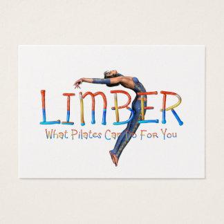 TOP Limber Pilates Business Card