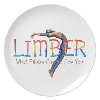 TOP Limber Pilates Party Plate