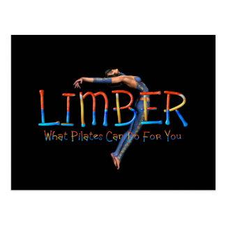 TOP Limber Pilates Postcard