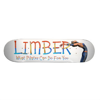 TOP Limber Pilates Skateboard Deck