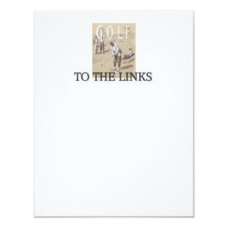 TOP Links Golf Card