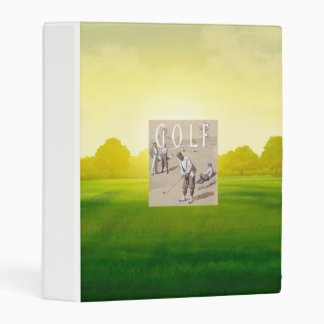 TOP Links Golf Mini Binder