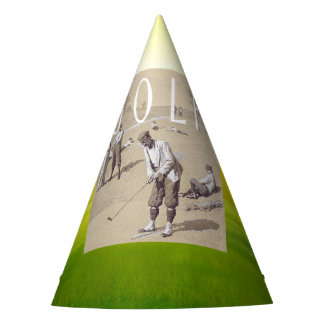 TOP Links Golf Party Hat