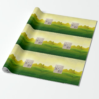 TOP Links Golf Wrapping Paper