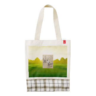 TOP Links Golf Zazzle HEART Tote Bag