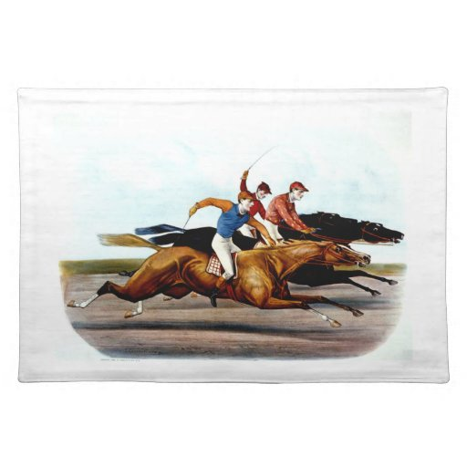TOP Love Horse Racing Cloth Placemat