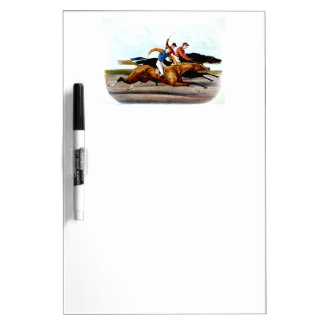 TOP Love Horse Racing Dry Erase Board