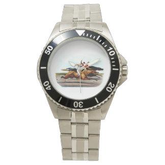 TOP Love Horse Racing Wristwatch