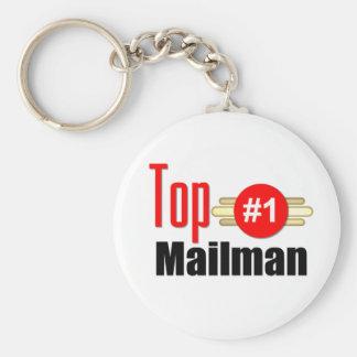 Top Mailman Key Chain