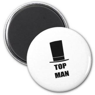 Top Man 2 Inch Round Magnet