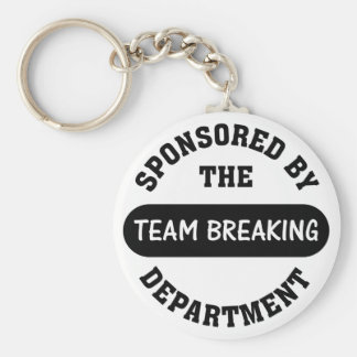 Top management works hard to break employee spirit keychain