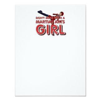 TOP Martial Arts Girl Card