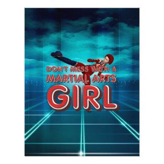TOP Martial Arts Girl Flyer