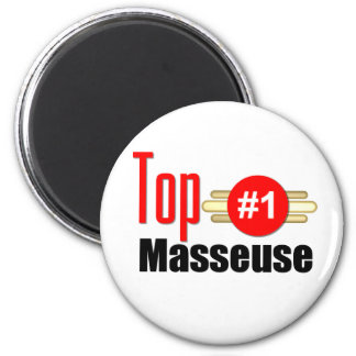 Top Masseuse Fridge Magnet